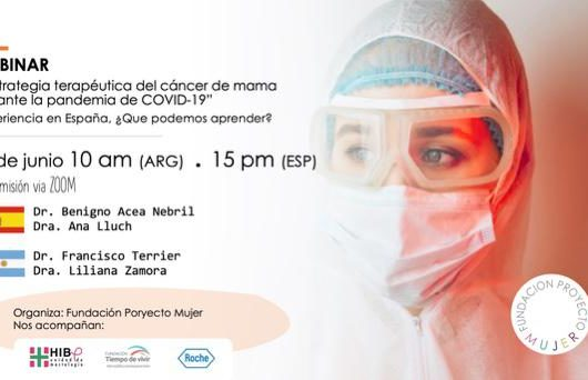 Estrategia terapéutica del cáncer de mama durante la pandemia COVID